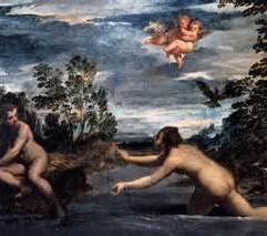 Scarsellino Salmacis y Hermafrodito by G Borghese