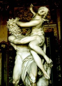 Bernini, Rape of Persephone, sculpture