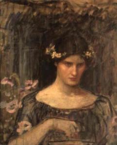 Medea by J .W Waterhouse
