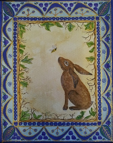 The Honeybee and the Hare  Deborah Sheehy photo mini