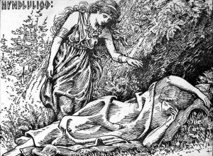 Freya awakes Hyndla