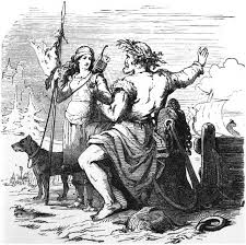 Marriage of Skadi and Njord
