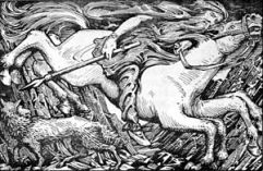 Odin's Ride to Hel
