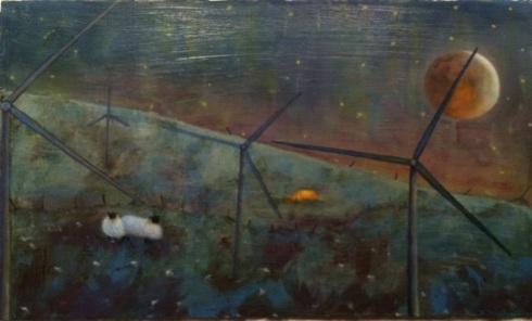 Brigid Painting